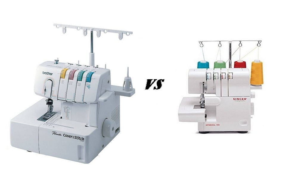 Coverstitch Machine vs Serger