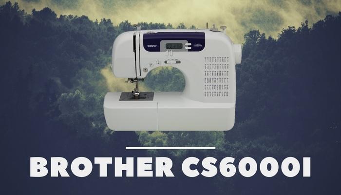 Brother CS6000i Quilting Machine