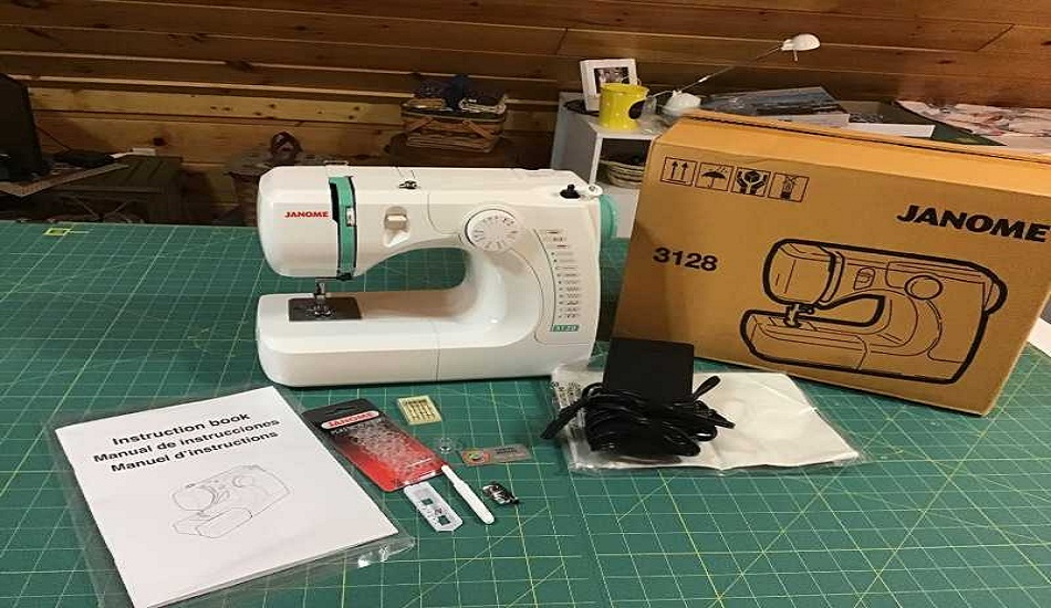 Janom Sewing Machine 3128