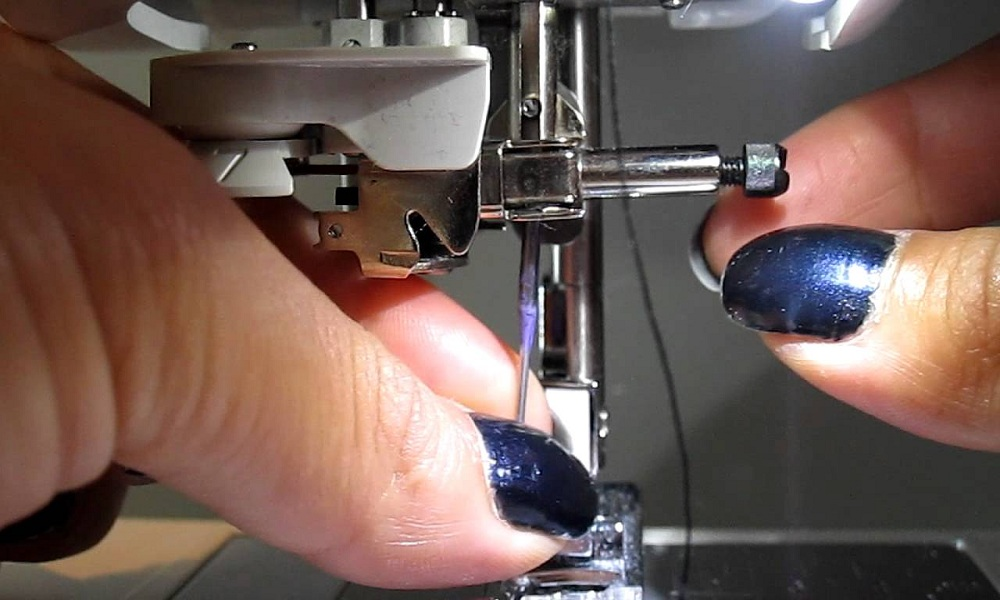 Thread A Singer Simple Sewing Machine
