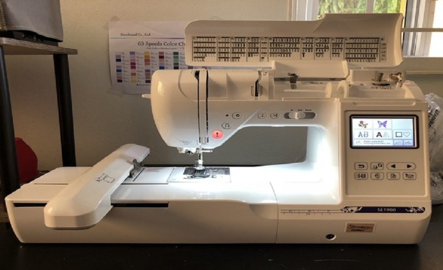 Brother Computerized Sewing and Embroidery Machine SE1900