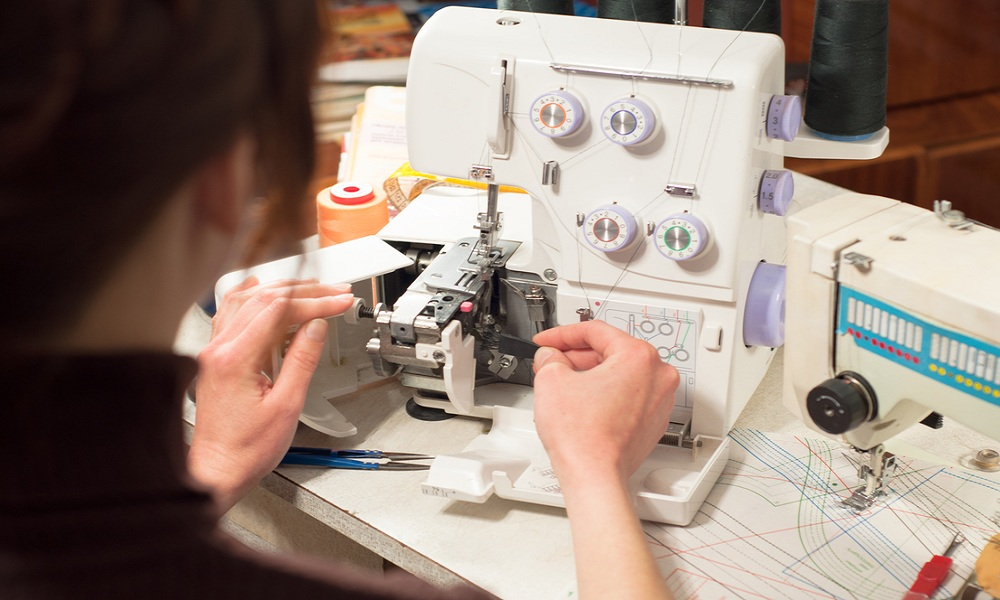 what is a serger sewing machine used for